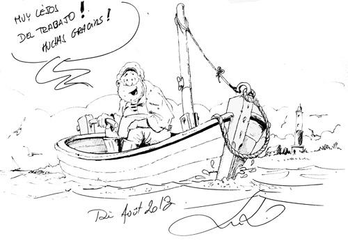Comic para el Hotel 26 Labrador, cerca de Zaragoza