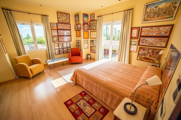 habitacion armorica - hotel rural 26 Labrador en Zaragoza