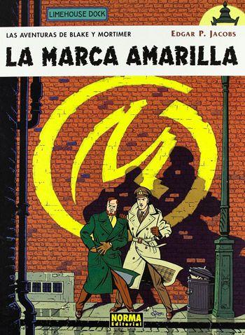 portada del comic La Marca Amarilla