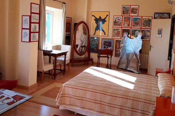 habitacion marca-amarilla - hotel rural 26 Labrador en Zaragoza