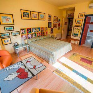 Habitación Templo del Sol - Hotel rural 26 Labrador en Zaragoza