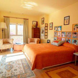 Habitación El Templo del Sol | Hotel Rural 26 Labrador en Calatorao, Zaragoza