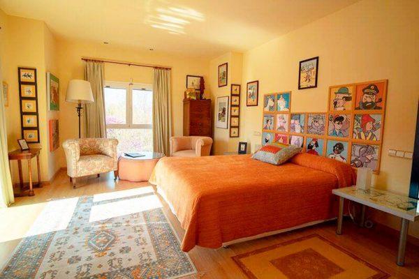Habitación El Templo del Sol   Hotel Rural 26 Labrador en Calatorao, Zaragoza